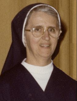 Sister Francis Marie Lanasa
